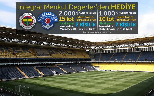 12 Şubat Cuma Fenerbahçe - Kasımpaşa